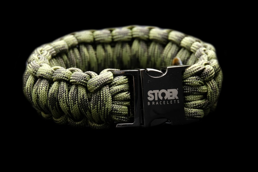Paracord XL black Camo cobra