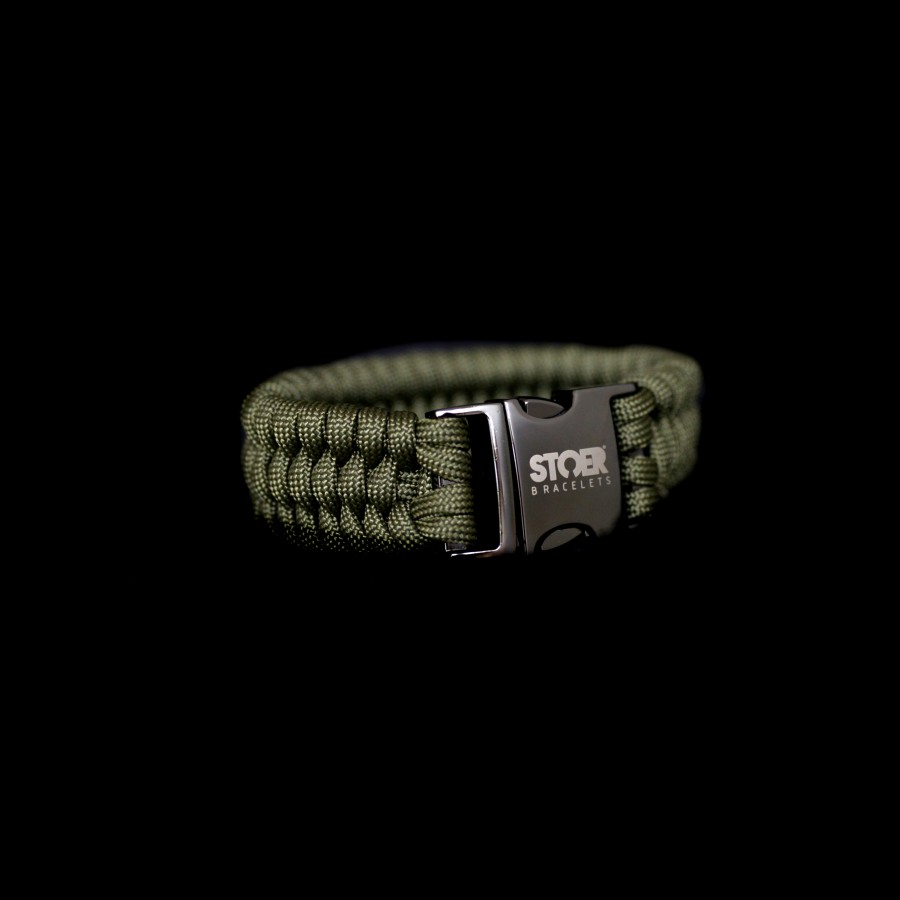 Paracord Xl black olive fishtail