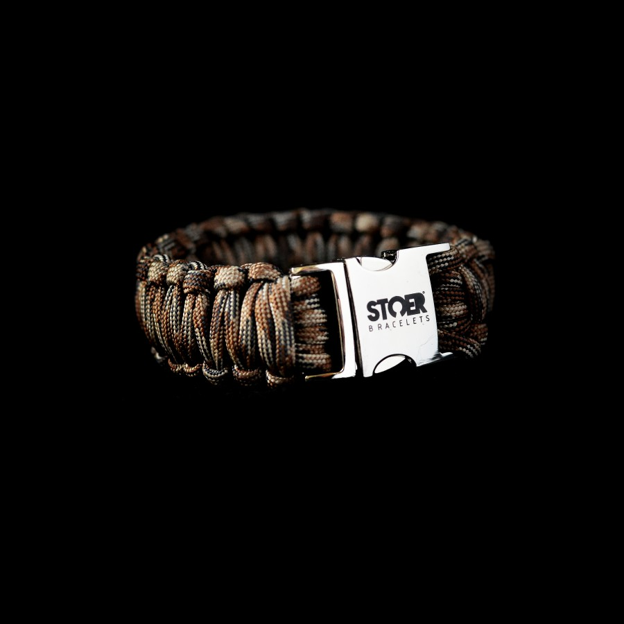 Paracord  XL camo brown cobra