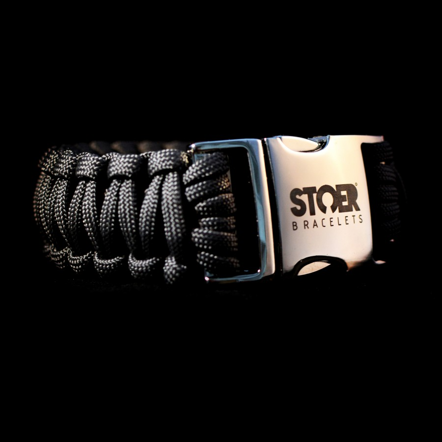 Paracord XXL 30mm zwart cobra