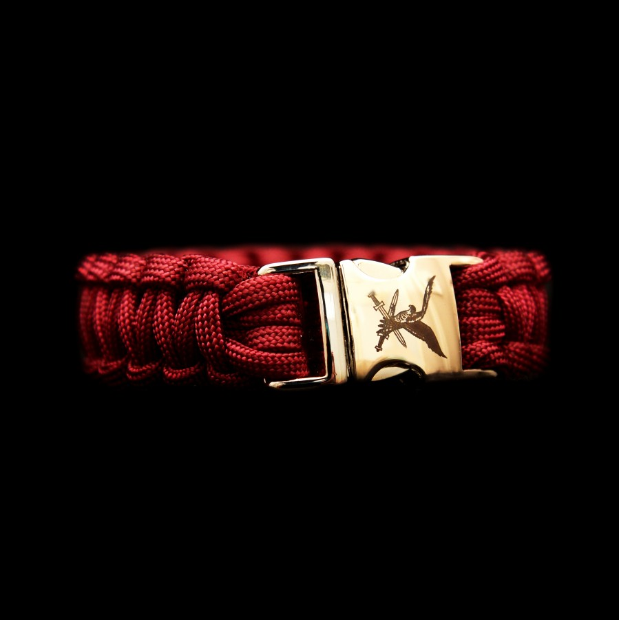 Paracord Luchtmobiele brigade rood
