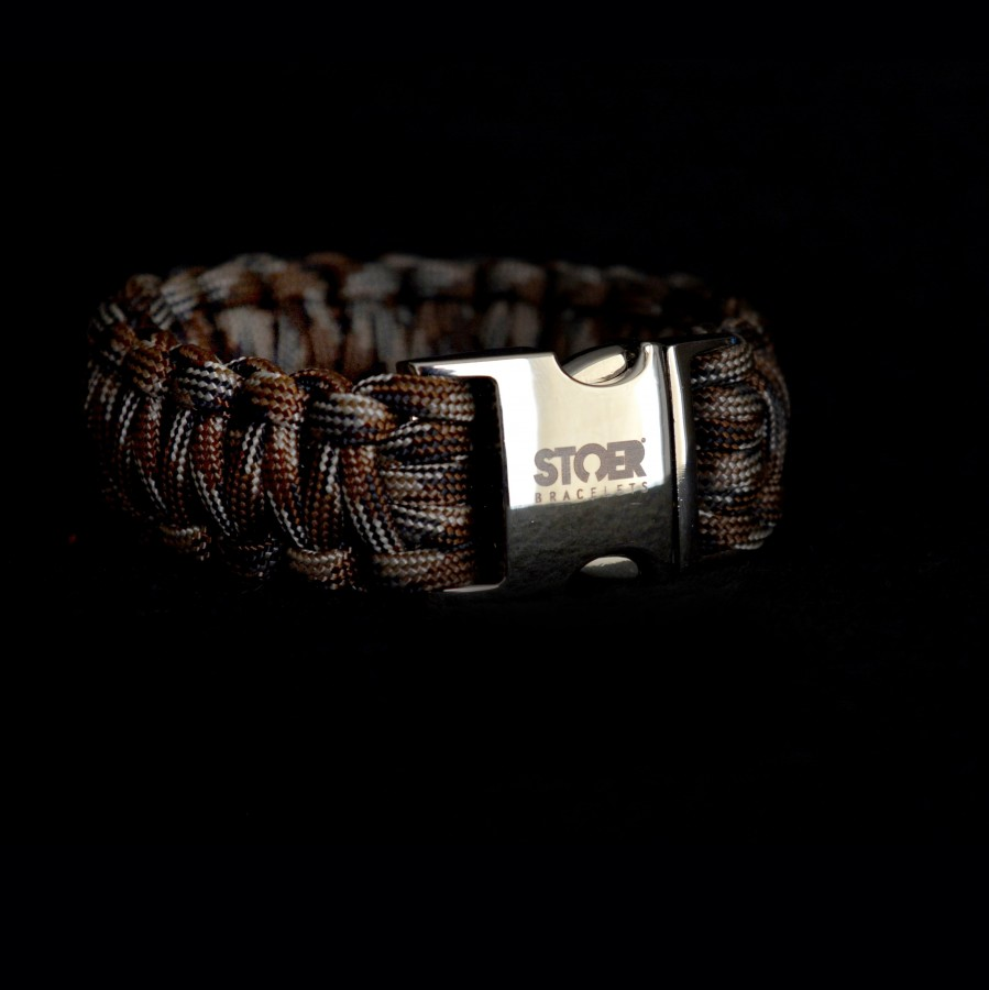 Paracord camo brown