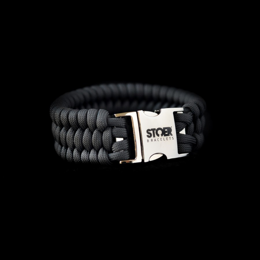 Paracord XL antraciet fishtail