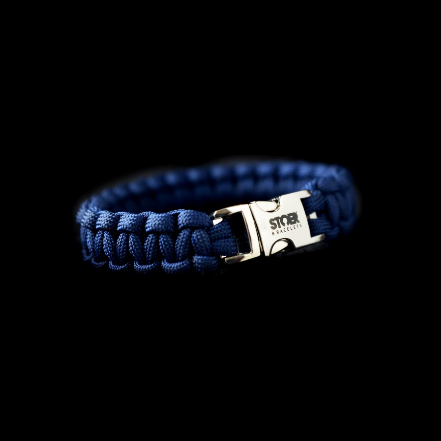 Paracord armband Blauw 15+20mm