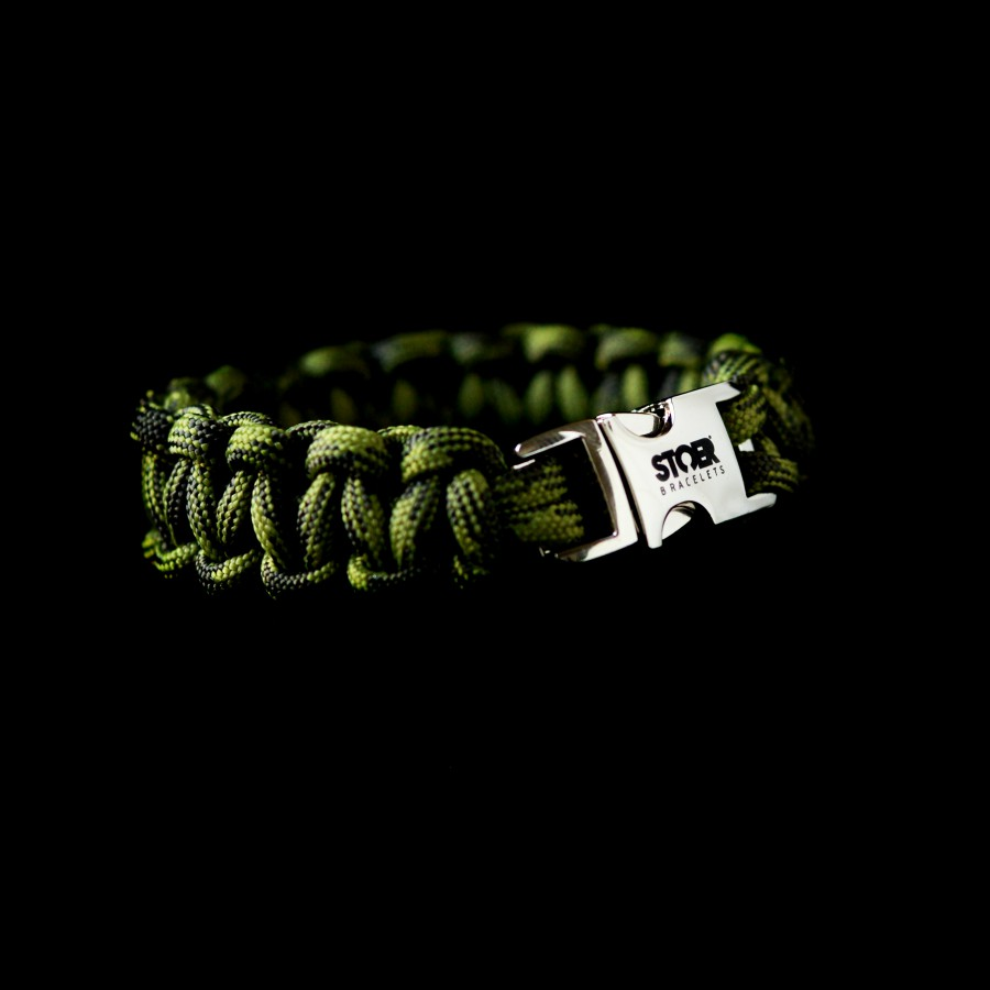 Paracord armband Camoflage 15+20mm