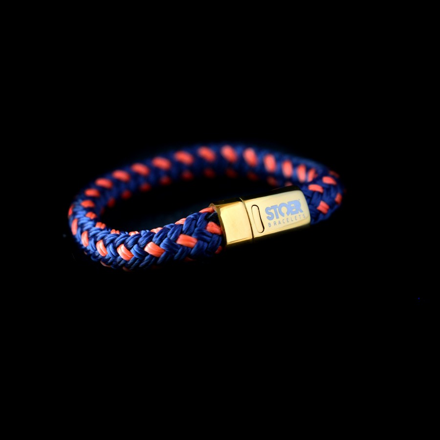 Nautic12Gold Dark Blue&Orange