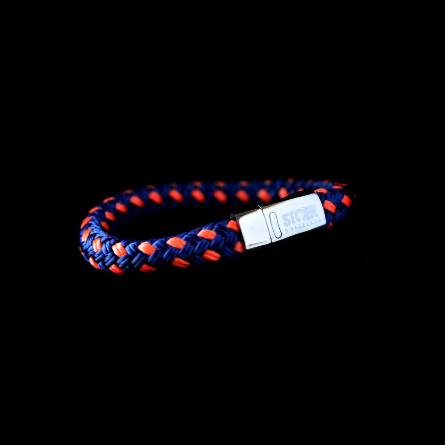 Nautic12silver Dark Blue&Orange