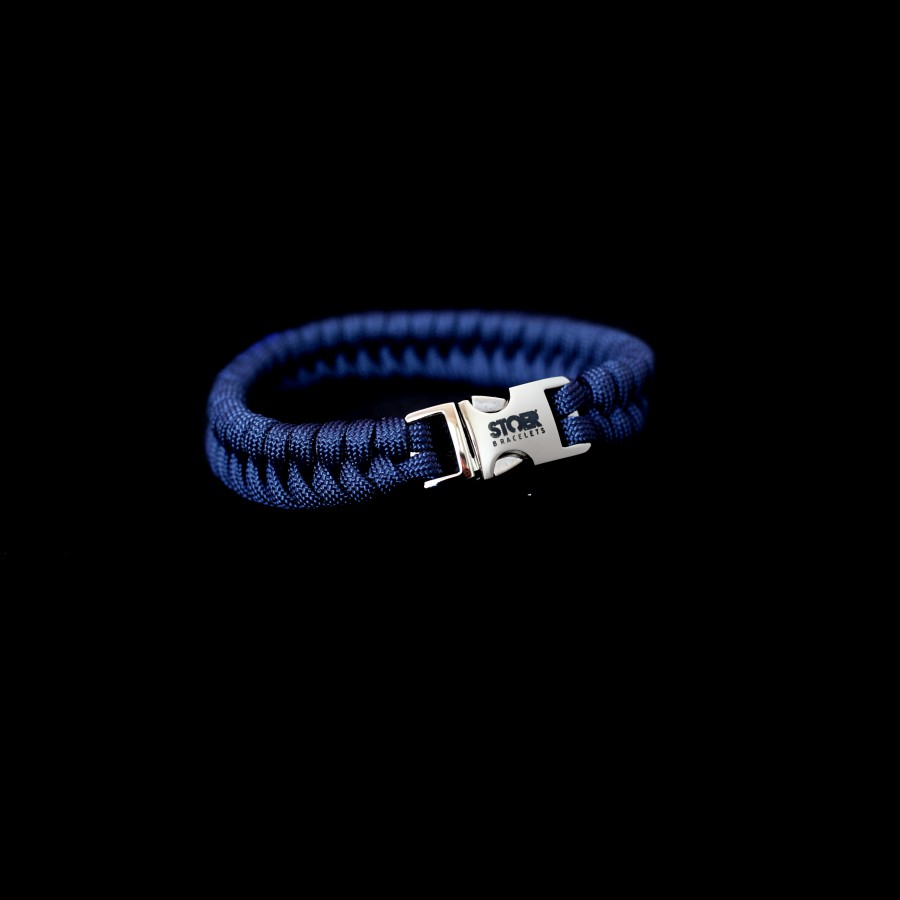 Paracord navyblue fishtail 15mm