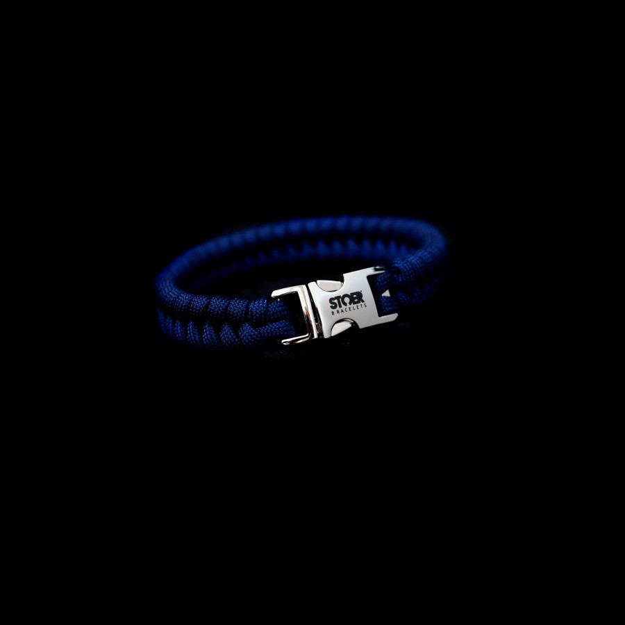 Paracord blauw fishtail 15mm