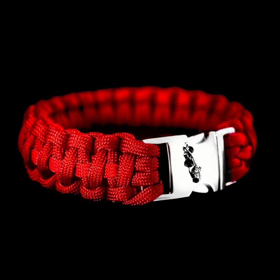 Paracord Formule 1  rood
